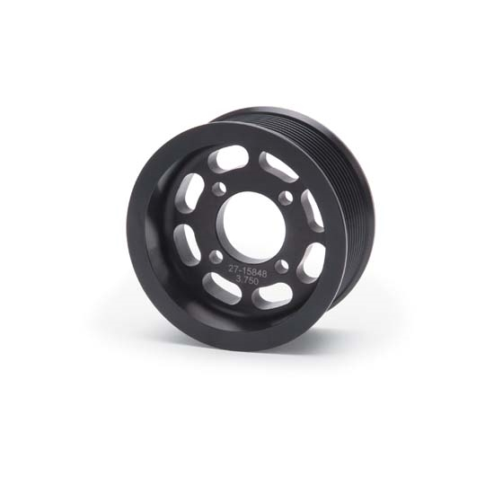 Edelbrock 15848 E-Force Supercharger Pulley, Aluminum, 3.750 Inch
