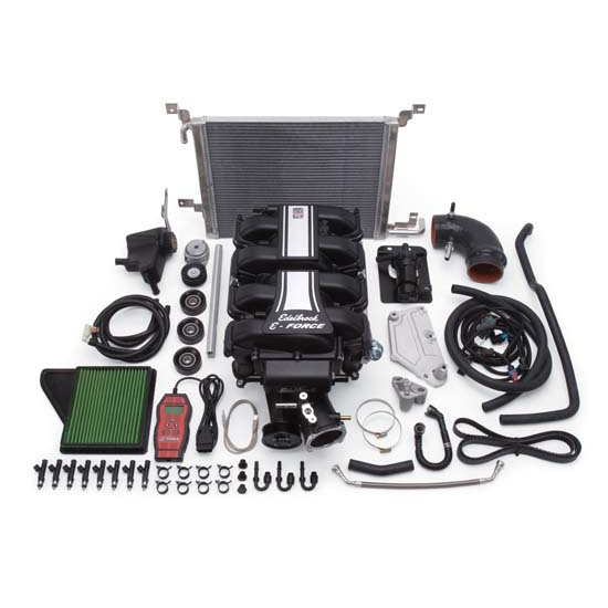 Edelbrock 1588 E-Force Street Legal Kit Supercharger System