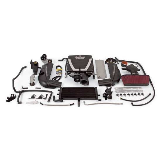 Edelbrock 15900 E-Force Street Legal Kit Supercharger System, 6.2L LS3