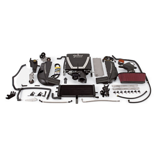 Edelbrock 15930 E-Force Supercharger Street Legal Kit, Chevy 6.0L