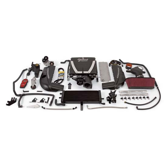 Edelbrock 1593 E-Force C-6 Corvette Supercharger System Kit, 6.0L