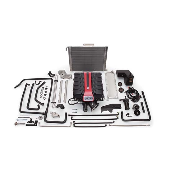 Edelbrock 1596 E-Force Chevy Competition Supercharger System Kit, 6.2L