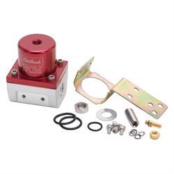 Edelbrock 174041 Fuel Pressure Regulator, Red Anodized
