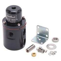 Edelbrock 174123 Fuel Pressure Regulator, Black Anodized