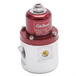 Edelbrock 174131 Fuel Pressure Regulator, Red Anodized