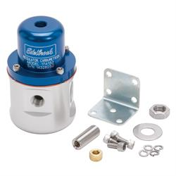 Edelbrock 174132 Fuel Pressure Regulator, Blue Anodized