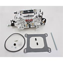 Edelbrock 18044 Endurashine Dual Quad 500 CFM 4 Barrel Carb-Man. Choke