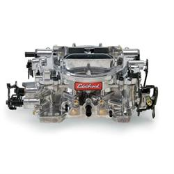Edelbrock 1804 Dual Quad 4 Barrel Carburetor, 500 CFM, Manual Choke