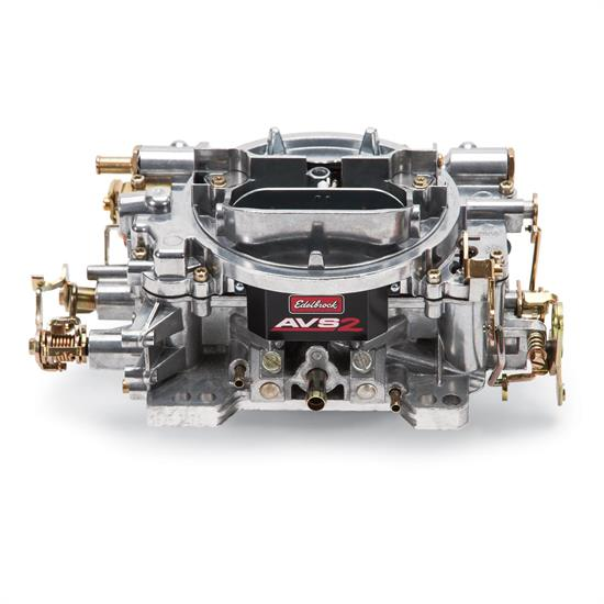 Edelbrock 1905 AVS2 650 CFM 4 Barrel Carburetor, Manual Choke