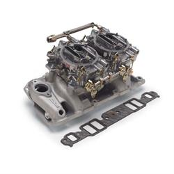 Edelbrock 2025 RPM Air-Gap Dual-Quad Intake Manifold/Carburetor Kit