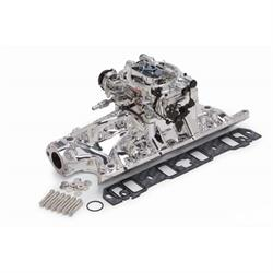 Edelbrock 20324 Performer RPM Intake Manifold/Carburetor Kit, Ford