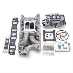 Edelbrock 2033 Single-Quad Intake Manifold/Carburetor Kit