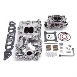 Edelbrock 20624 Performer RPM Intake Manifold/Carburetor Kit,BB Chevy