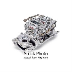 Edelbrock 2065 RPM Air-Gap  Dual-Quad Intake Manifold/Carburetor Kit