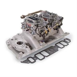 Edelbrock 2066 RPM Air-Gap Dual-Quad Intake Manifold/Carburetor Kit