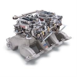 Edelbrock 2068 RPM Air-Gap  Dual-Quad Intake Manifold/Carburetor Kit
