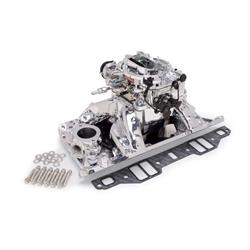 Edelbrock 20754 Air-Gap Intake Manifold/Carburetor Kit,SB Mopar