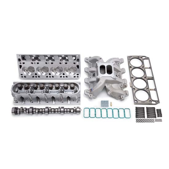 Edelbrock 2082 Power Package Top End Engine Kit, 6.0L LS2