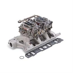 Edelbrock 2085 RPM Air-Gap Dual-Quad Intake Manifold/Carburetor Kit