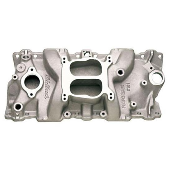 Edelbrock 2101 Performer 1955-86 Small Block Chevy Intake Manifold