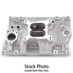 Edelbrock 21141 Performer Intake, Chevy 4.3L Vortec V6, Polished