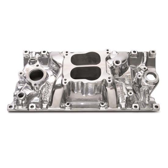 Edelbrock 21161 Performer Vortec Intake Manifold,Polished