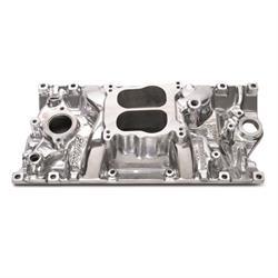 Edelbrock 21161 Performer Vortec Intake Manifold,Polished, Chevy 5.7L