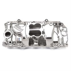 Edelbrock 21611 Performer Intake Manifold, Polished, Chevy 396-454