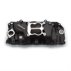 Edelbrock 21613 Performer Intake Manifold, Black, Chevy 396-454