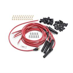 Edelbrock 22710 Max-Fire Ultra-Spark Plug Wire Set, Red