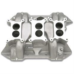 Edelbrock 24751 Chrysler 6-Packs Intake Manifold, BB Mopar 413,426,440