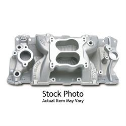 Edelbrock 26011 Performer Air-Gap Series Intake Manifold, SB Chevy