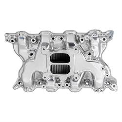 Edelbrock 26651 Performer Intake Manifold, Polished, Ford 351C