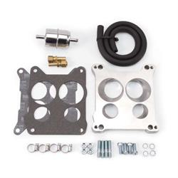 Edelbrock 2697 Performer Series Carburetor Adapter, 0.850 Inch
