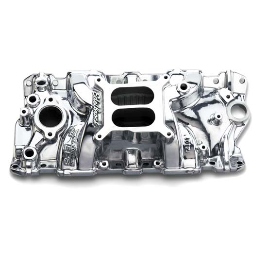 Edelbrock 27011 Performer EPS Intake Manifold, Small Block Chevy