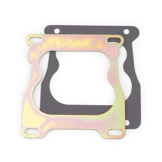 Edelbrock 2731 Performer Series Plate Carburetor Adapter, 0.100 inch