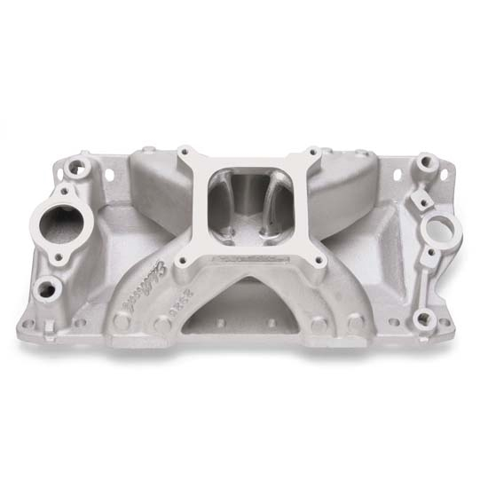 Edelbrock 2825 Super Victor CNC Intake Manifold, Chevy Small Block