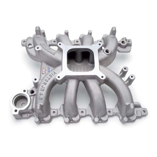 Edelbrock 2838 Victor Jr  Ford 4 6l Sohc Intake Manifold