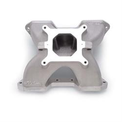 Edelbrock 2844 Victor 2 Piece Intake Manifold, Small Block Chevy