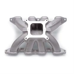 Edelbrock 2848 Victor 2-Piece Intake Manifold, Small Block Chevy