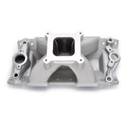 Edelbrock 2892 Super Victor Series Intake Manifold, Aluminum, Chevy