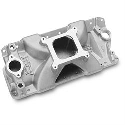 Edelbrock 29001 Victor Jr. Series Intake Manifold, Small Block Chevy