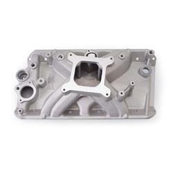 Edelbrock 2930 Torker Intake Manifold, Single Pane, Aluminum