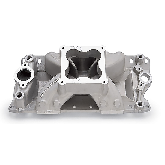 Edelbrock 2971 Super Victor Intake Manifold, Small Block Chevy
