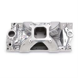 Edelbrock 29751 Victor Jr. Series Intake Manifold, Small Block Chevy