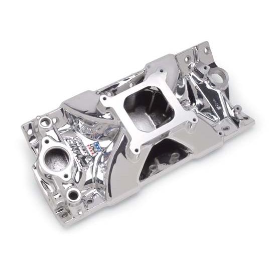 Edelbrock 29754 Victor Jr. Series Intake Manifold, Small