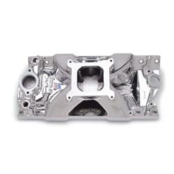 Edelbrock 29754 Victor Jr. Series Intake Manifold, Small Block Chevy