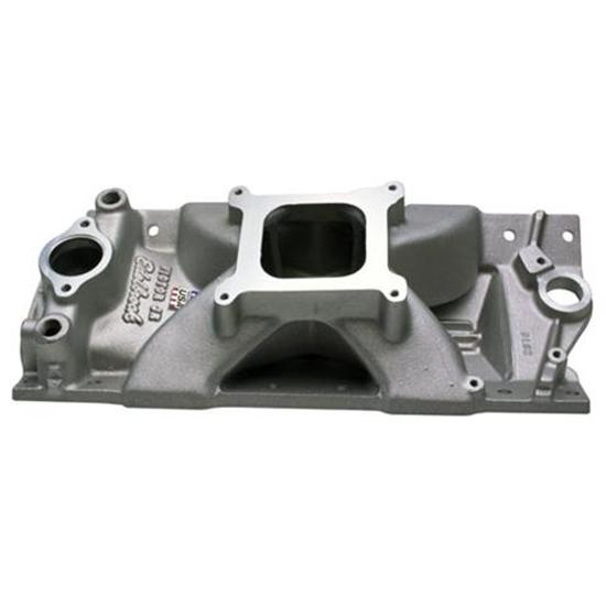 Edelbrock 2975 Victor Jr. Small Block Chevy Manifold