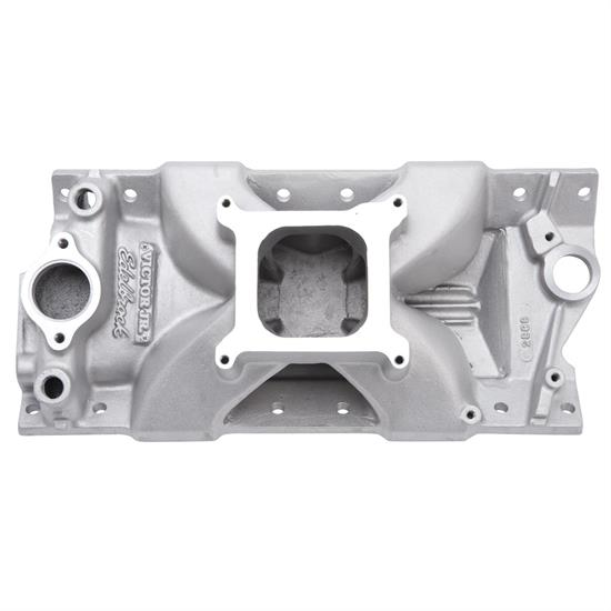 Edelbrock 2999 Tall Victor Jr. Small Block Chevy Manifold