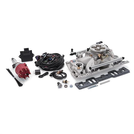 Edelbrock 357800 Pro-Flo 4 EFI Kit,Small Block Chevy,Vortec Heads